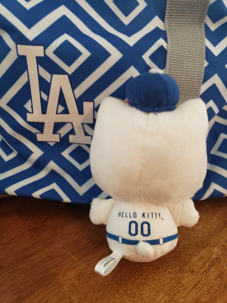 Hello Kitty Dodgers plush only 2 left in package!!