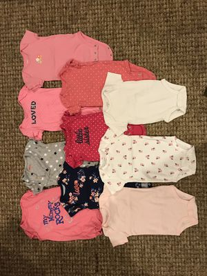6 mo Girl's Onsies for Sale in Clarksburg, MD
