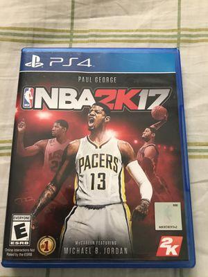 NBA 2k17 for Sale in West Springfield, VA