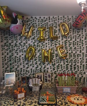 Wild one foil balloons for Sale in Auburn, WA