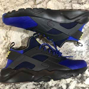 Nike Air Huarache Run Ultra SE Anthracite Para Blue 875841 001 for Sale in Arlington, VA