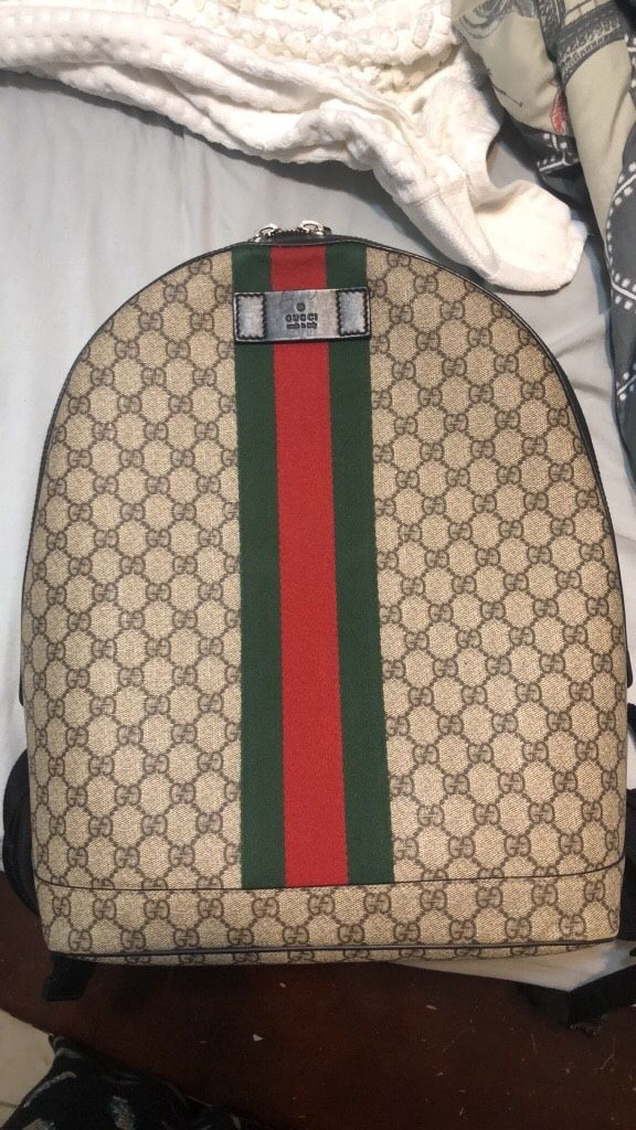9fae7d33f0d7 Authentic Gucci supreme backpack bought from gucci website for Sale ...
