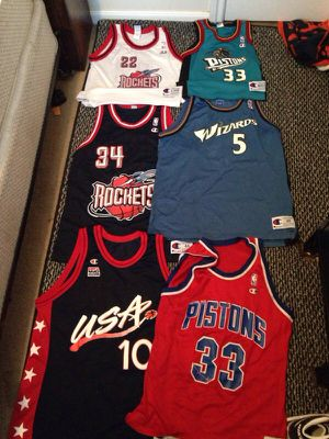 new styles 1c5b7 be7f1 champion jerseys NBA for Sale in Cypress, TX - OfferUp