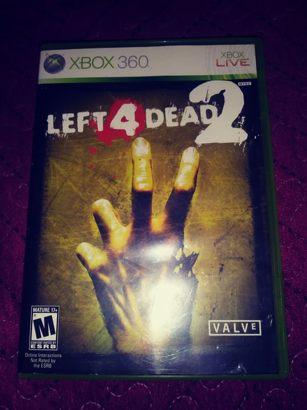 Left 4 dead 2 xbox 360 for Sale in Garden Grove, CA - OfferUp