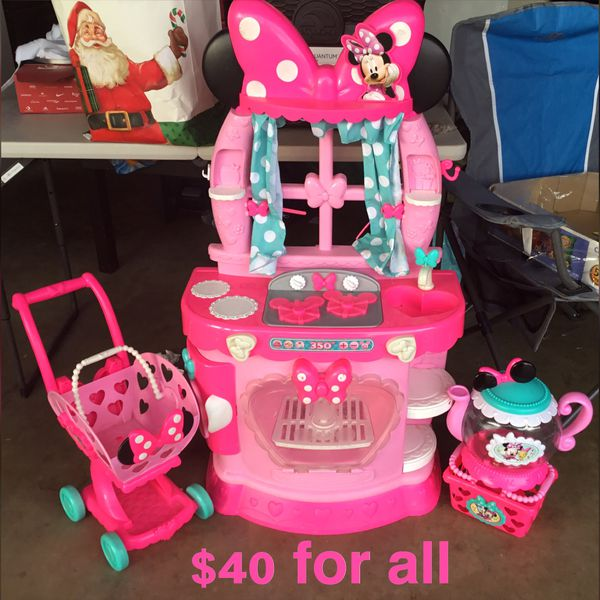 Minnie Mouse Kitchen Set For Sale In Perris Ca Offerup