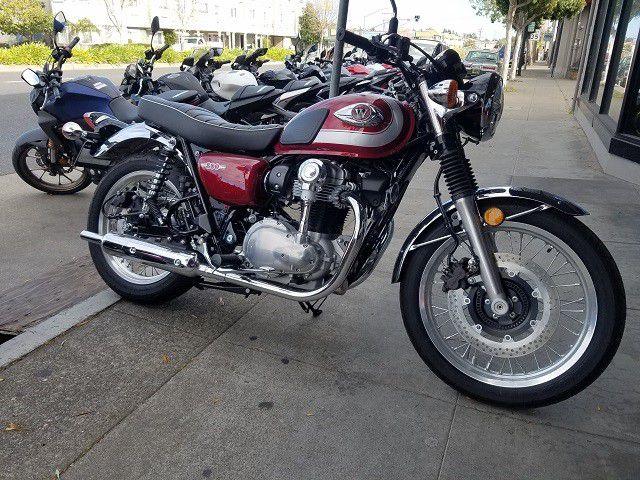 2020 KAWASAKI EJ800 / W800 ABS  Clean Title Motorcycle 468 Miles