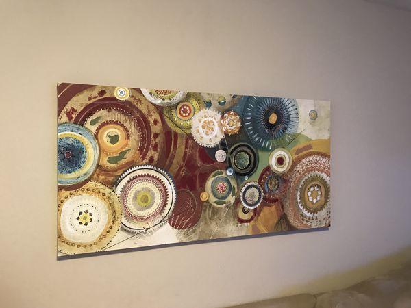 World Market/cost plus canvas wall art for Sale in Pleasanton, CA ...