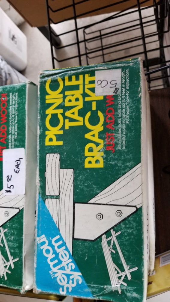 Picnic Table Bracket Kit For Sale In Lyons IL OfferUp - Picnic table bracket kit