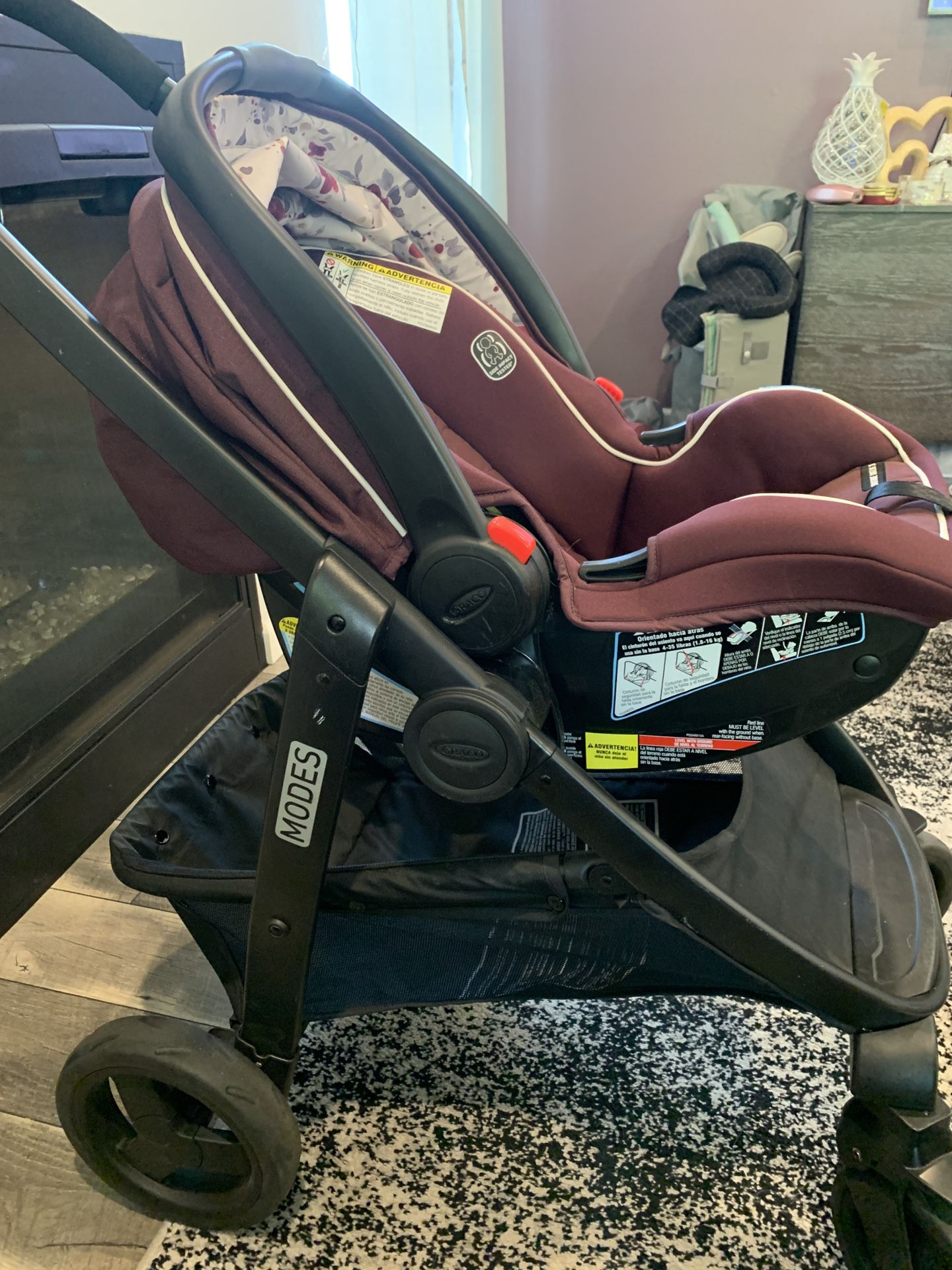 Stroller - Graco Modes Travel System Nanette