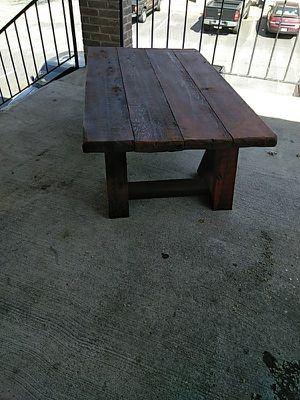 Cedar wood brand new table for sale  Tulsa, OK