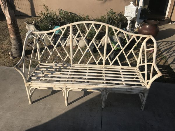 Sensational Outdoor Bamboo Bench Patio Furniture For Sale In Garden Pdpeps Interior Chair Design Pdpepsorg
