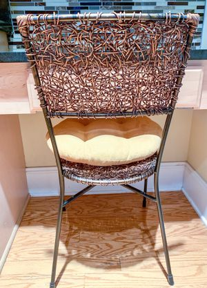 Pier 1 Wicker Chair With Cushion For In Wilmington Nc