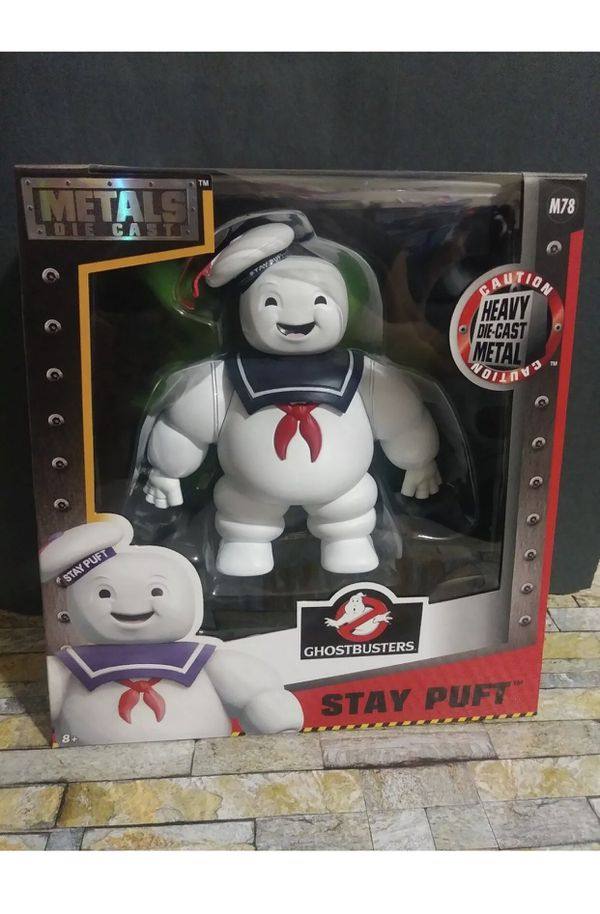 Die Cast Metals Ghostbusters 6inch Classic Figure Stay Puft Marshmallow Man M78