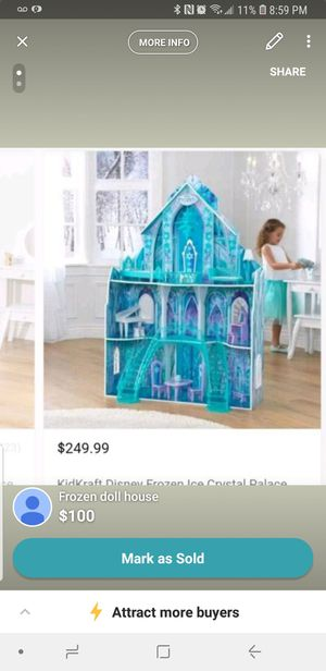 Frozen doll house for Sale in Sudley Springs, VA