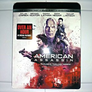 American Assassin (4k + Blu-ray + Digital) BRAND NEW SEALED for Sale in San Diego, CA