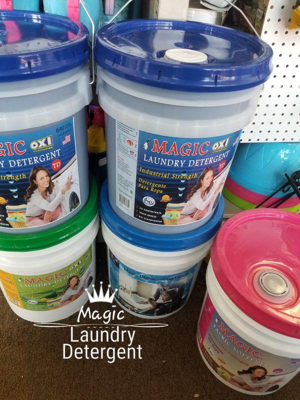 Magic Liquid Laundry Detergent 5gallon Bucket For Sale In