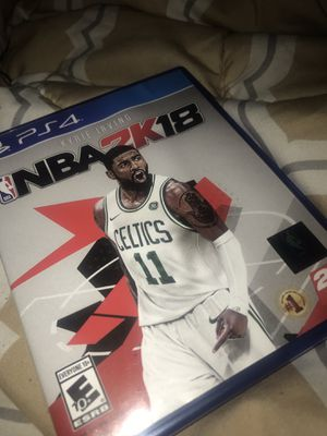 2k18 PS4 for Sale in MONTGOMRY VLG, MD