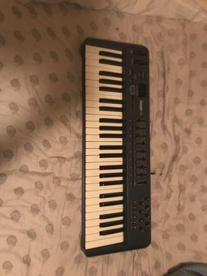 Oxygen 49 m-audio keyboard music for Sale in Ocoee, FL