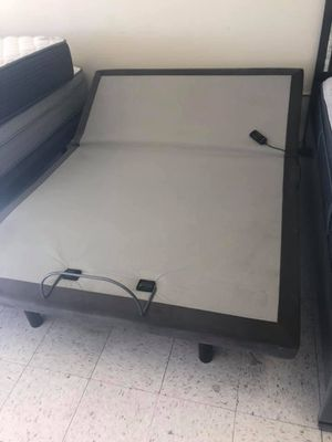 Photo Power adjustable queen size base beds on sale
