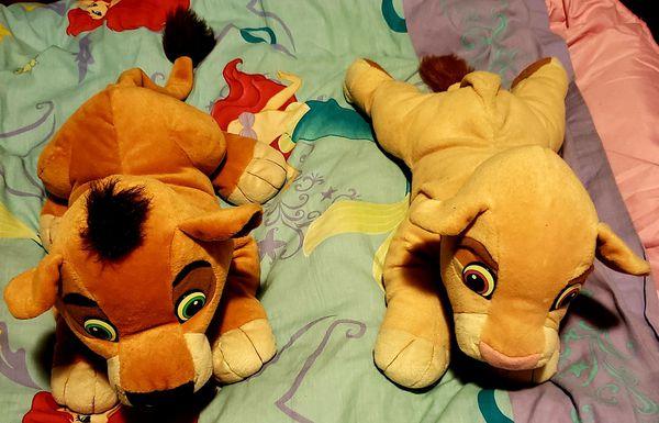 Disney The Lion King 2 Simba S Pride Plushies Kovu And Kiara For Sale In Upland Ca Offerup