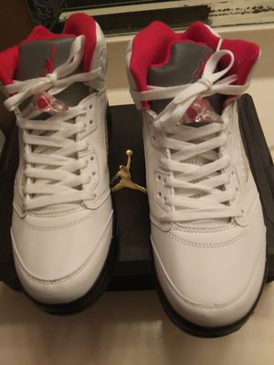 Photo Brand New Jordan 5s Sizes 8-10 $100