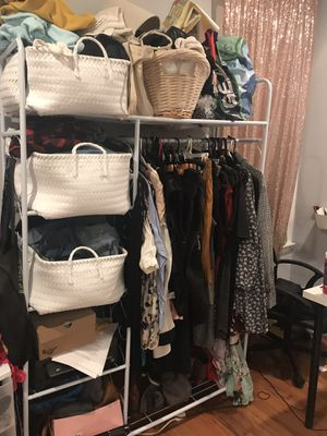 Free standing clothing rack for Sale in Washington, DC