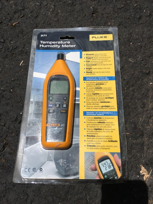 Fluke 971 Temperature and Humidity Meter for Sale in Lansdale, PA - OfferUp