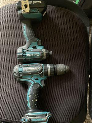 Photo Makita combo drill and impact driver 18v