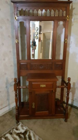 Antique cabinet with mirrors for Sale in Nashville, TN