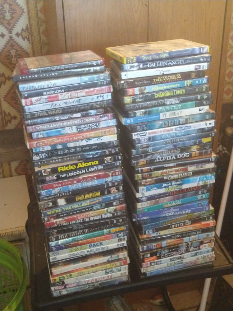 DVD'S 120 OF THEM And Portable Dvd Player