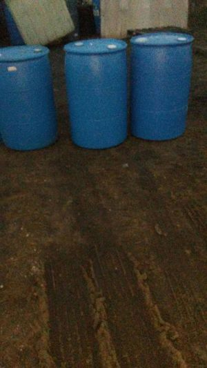 55 gallon plastic drums for sale for Sale in Detroit, MI