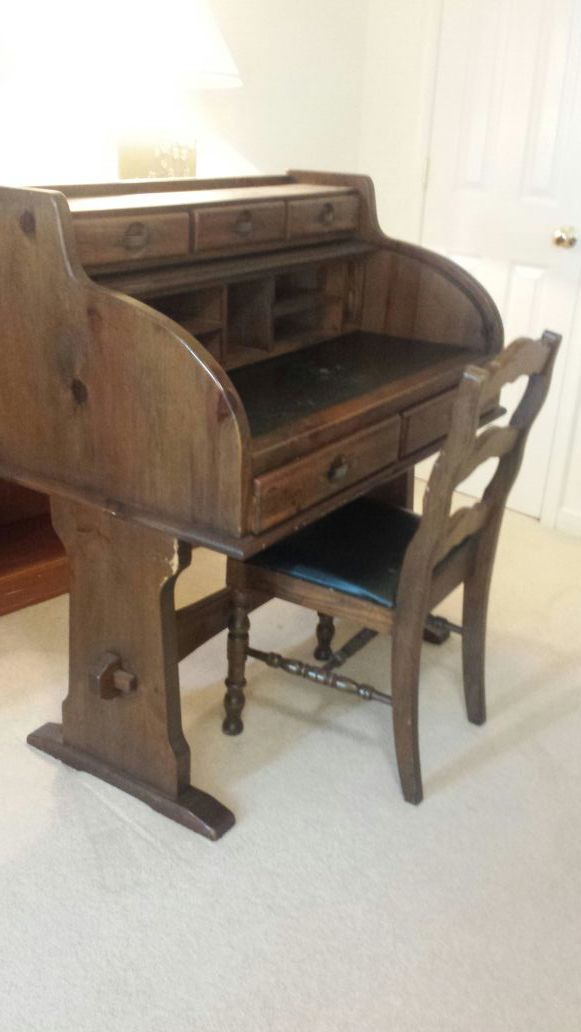 Young Hinkle Ship Ahoy Roll Top Desk For Sale In