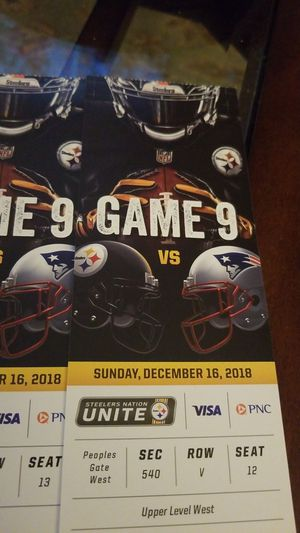 Steelers tix for Sale in Pittsburgh, PA