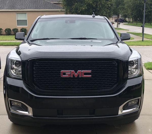 2017 Gmc Yukon Black And Stock Grills Package Deal