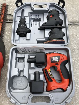 Black and Decker battery power tools for Sale in Alafaya, FL