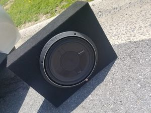 It is a subwoofer for car brand rockford fosgate p3 good sound for Sale in Aspen Hill, MD
