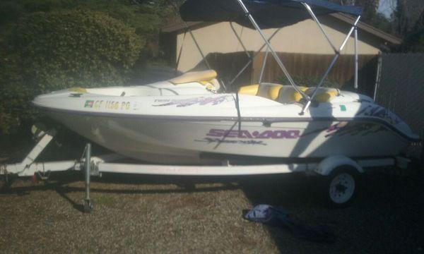 Sea doo jet boat 1998 speedster for Sale in Fresno, CA - OfferUp