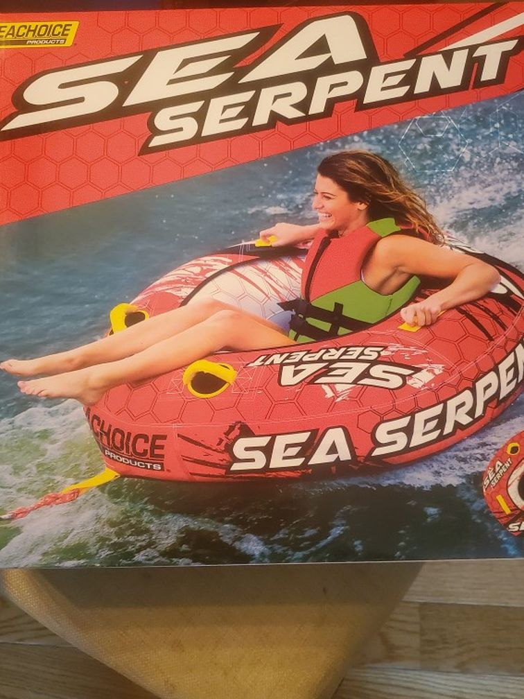 Photo Sea Serpent tube for boat brand new sealed in box