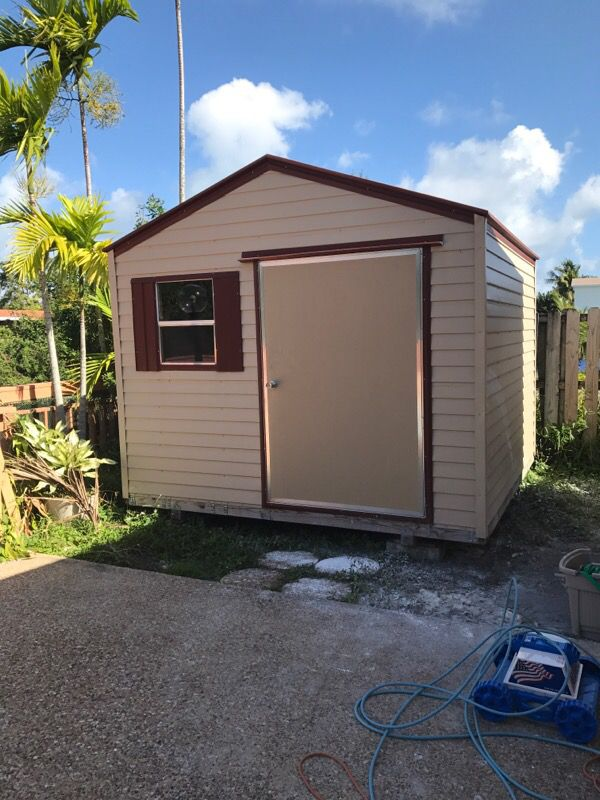10x10 Hurricane Certified Shed For Sale In Miami Fl Offerup