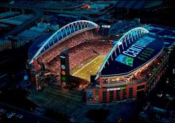 Seattle Seahawks ticket holder selling six games at a great price, lower level seats Thumbnail