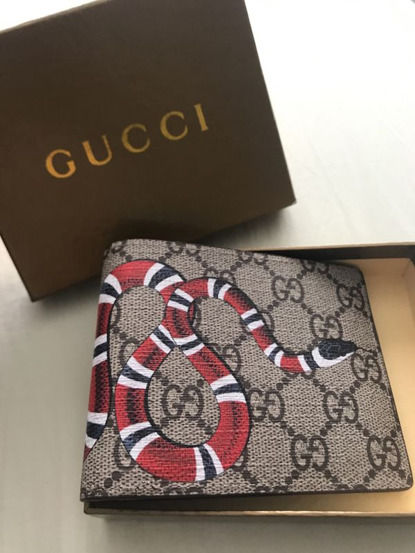 6a7ae9544925 Brand new Gucci KingSnake Wallet ! for Sale in San Diego, CA - OfferUp