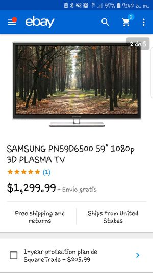 Samsung smart tv,59 inchs, 3D for Sale in Adelphi, MD