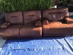 New and Used Leather sofas for Sale in Hawthorne, CA - OfferUp