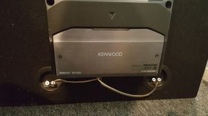 Subwoofer box and Amp for Sale in Fort Washington, MD