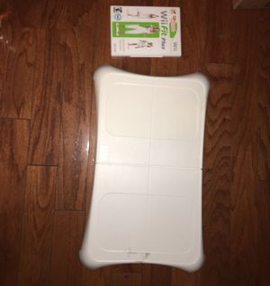 Wii FIT board and game for Sale in Herndon, VA