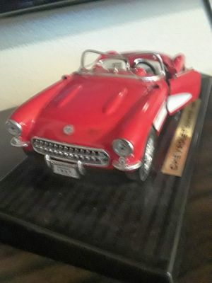1957 Red Convertible CORVETTE DIE-CAST CAR COLLECTIBLE for Sale in Salt Lake City, UT