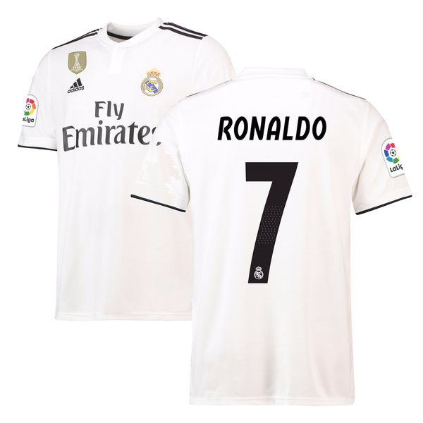 save off 0b4e3 5bb94 Men's Adidas White Real Madrid 2018/2019 Authentic Jersey free shipping  from England. for Sale in Miami, FL - OfferUp
