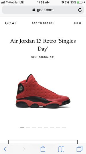 6a37e984e6be49 Chinese singles day Jordan 13s size 11.5 for Sale in Tacoma