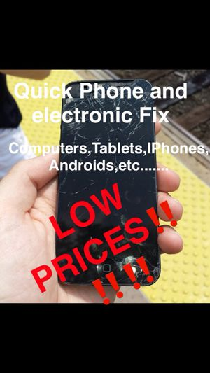 Quick Electronic Fix (IPhone,IPads, Computers and more) for Sale in Boston, MA