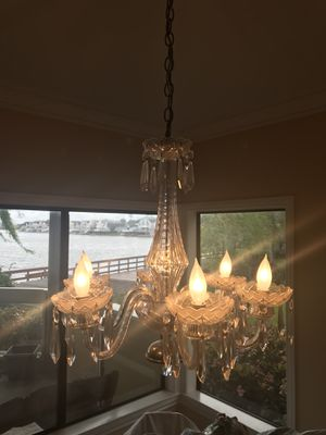 Gorgeous Real Crystal Chandelier! for Sale in San Francisco, CA
